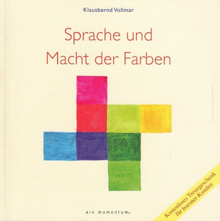 Sprache und Macht der Farben von Klausbernd Vollmar