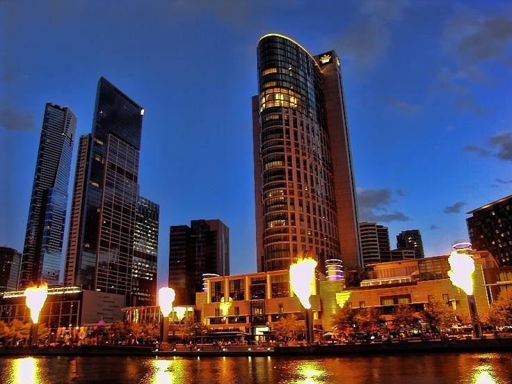 Crown Casino Fire Show - Melbourne