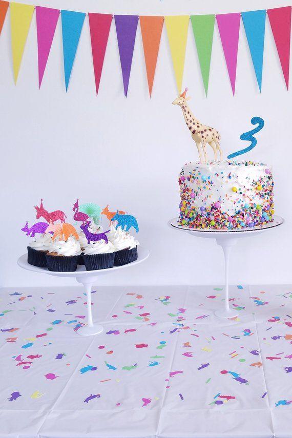 Peachy Glitter Number Cake Topper Glitter Age Cake Topper Birthday Funny Birthday Cards Online Inifofree Goldxyz