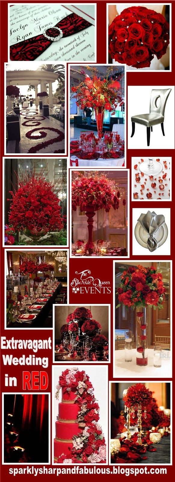 Extravagant Wedding in Red.
