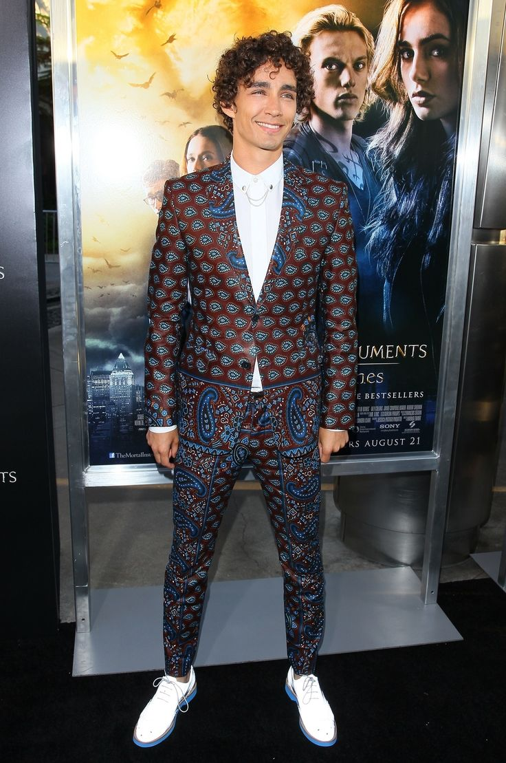 "Robert Sheehan At ""The Mortal Instruments: City Of Bones"" Premiere"