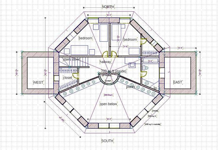 Straw bale house plan 1000 sq ft 2nd story home ideas for Small straw bale house plans