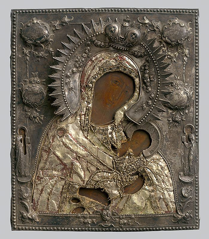 Madonna and Child, Russian Iconography, 1760/1790. Slovak National Gallery, CC BY