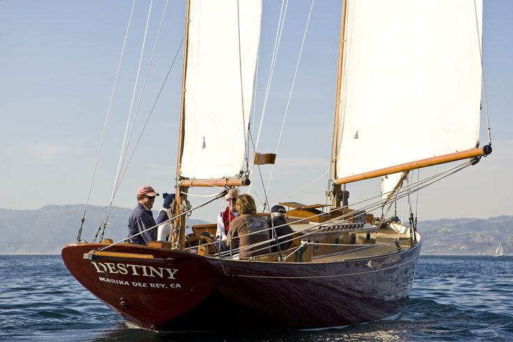 William Atkin, a well known naval architect and boat builder of the 20s, 30s and 40s, working out of Long Island, NY, designed a sweet little yawl he called the Meridian. In 1938 the shipwright Joel Johnson of Connecticut was retained to build one named Destiny. Fast forward 80 years and the boat found its way to southern California where it was neglected and abandoned. This is where the author found it, and made the decision to bring it back to life. This blog is the story of the rest...
