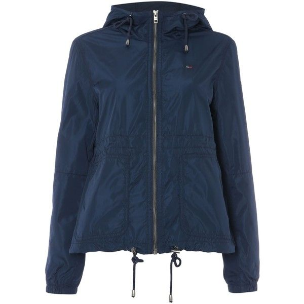 Navy Blue Parka Jacket - Pl Jackets