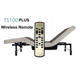 Transitional Sleep System Adjustable Bed Base, Twin XL TS100-PLUS Wireless Remote