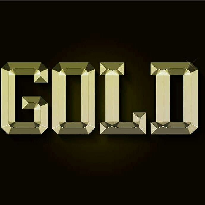Gold Bold, photoshop