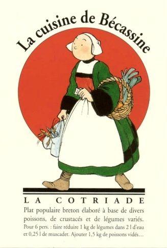 J.P. Pinchon :La cuisine de Bécassine