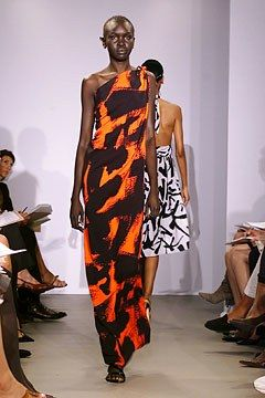 Michael Kors Collection Spring 2002 Ready-to-Wear Fashion Show - Alek Wek, Michael Kors