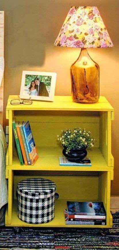 Casa - Decoração - Reciclados: Decore com Caixotes e Economize!