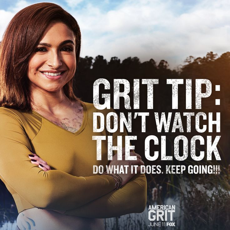 Wise words from cadre member Riki Long! See her inspire her team to rise to the occasion this Sunday on @AmericanGritFOX!