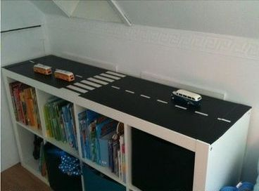 car or truck themed room