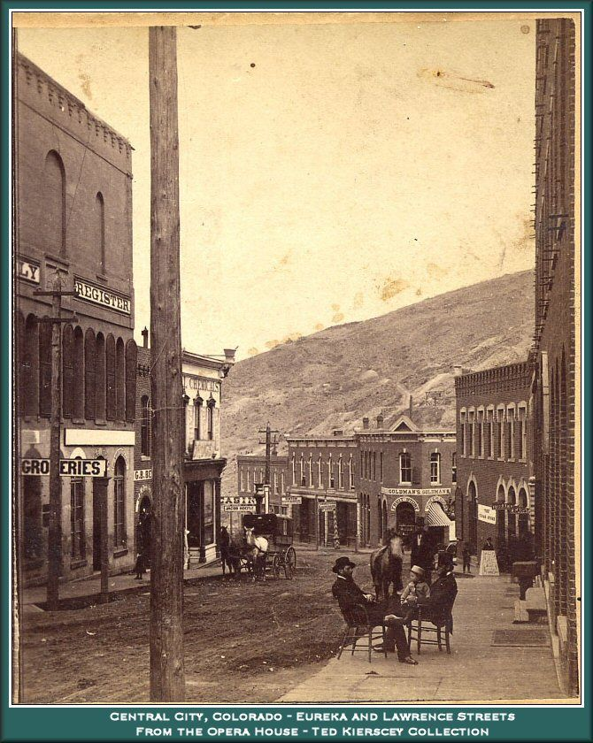Central City Colorado. My great-grandparents Phillips lived here for a few years in the 1870s or '80s.