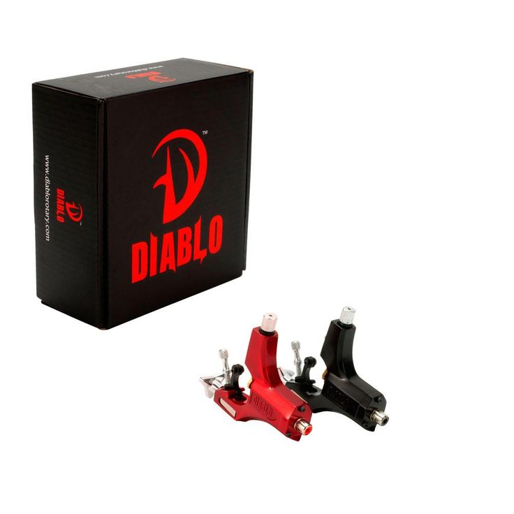 Diablo V2 Swiss Long 4.5mm Stroke Rotary Tattoo Machine