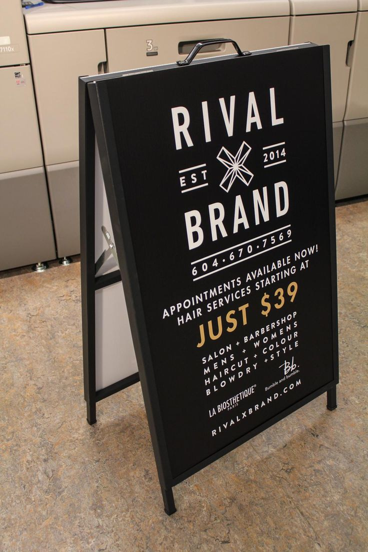 332 best Sandwich Boards images on Pinterest | A frame signs ...