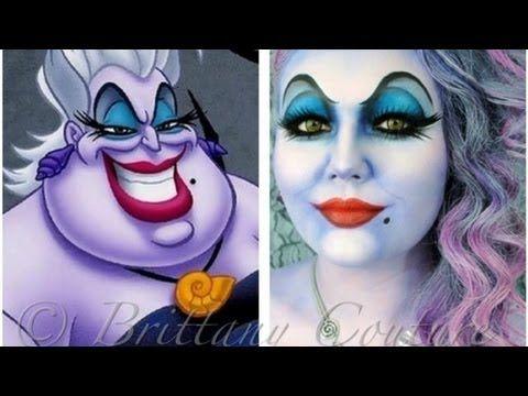 Ursula makeup application