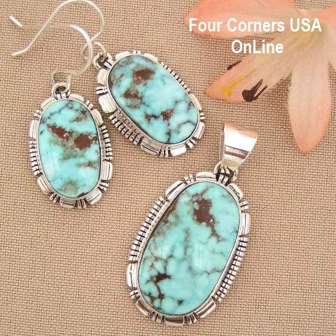 Best 25 turquoise pendant ideas on pinterest diy necklace with dry creek turquoise pendant necklace earring set native american indian silver jewelry nan 1410 mozeypictures Image collections