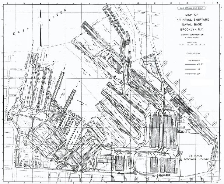 New York Naval Shipyard Brooklyn Navy Yard Facility Map - Brooklyn on the us map