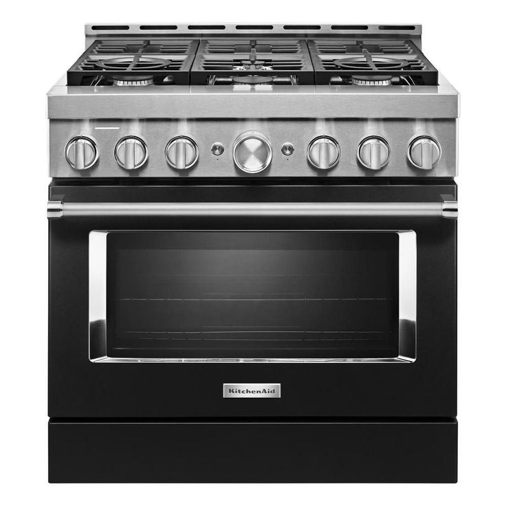 kitchenaid imperial black range