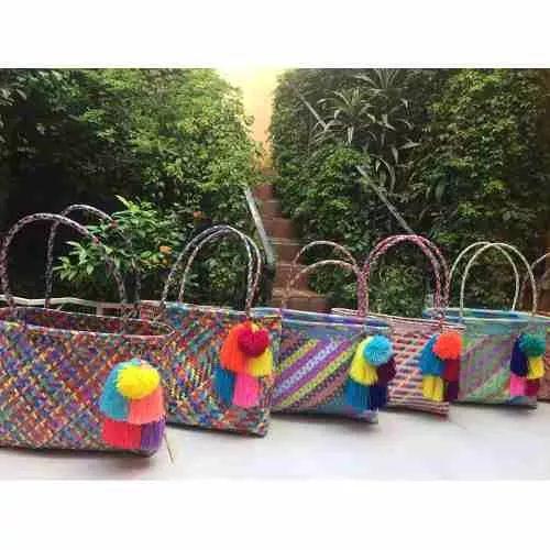 Bolsas artesanales mexicanas bolsas zapatos for Espejos artesanales