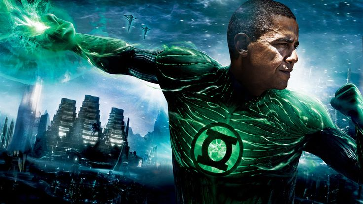 The Green Lantern Theory of the Presidency, explained