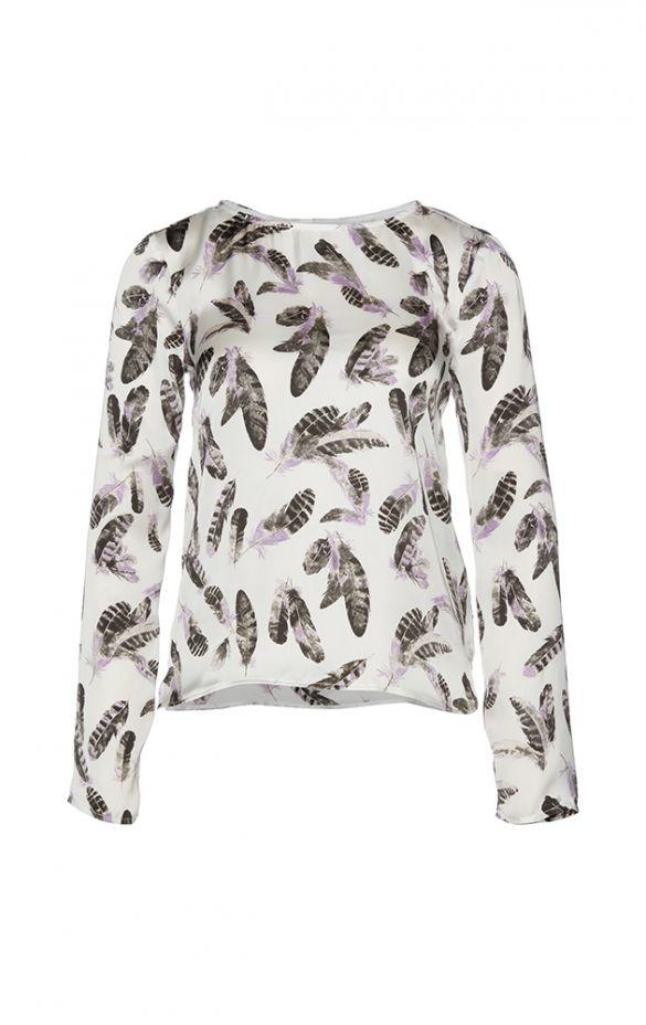 Женская белая блуза TOM TAILOR TT 20326740175 8210