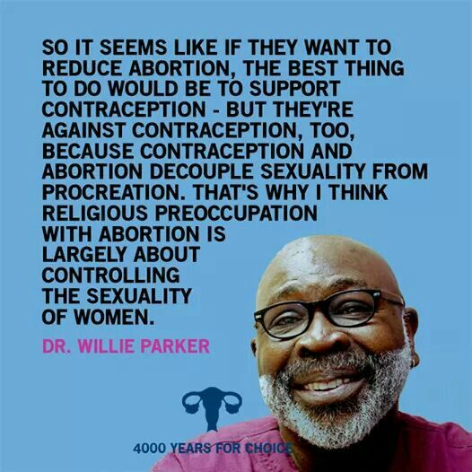 Thank you Dr. Parker for using your voice and logic to stand with women and our reproductive rights.