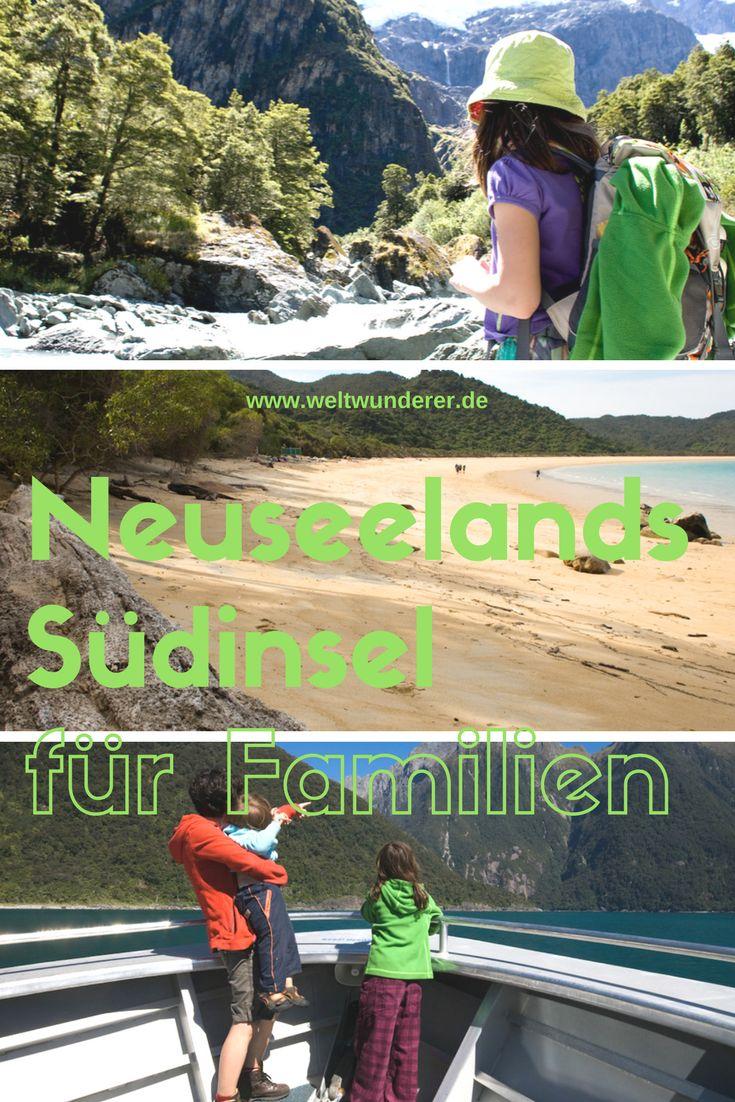 Die besten Familien-Tipps für Neuseelands Südinsel - weil Familien mit Kindern nicht Bungee jumpen und keine Gipfel besteigen wollen... ;-)
