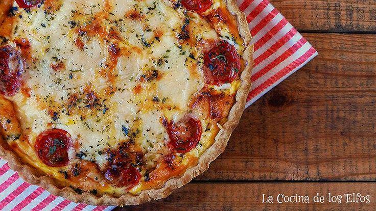 Quiche 4 Quesos (Masa 100% Casera) / 4 Cheese Quiche (100% homemade pastry)