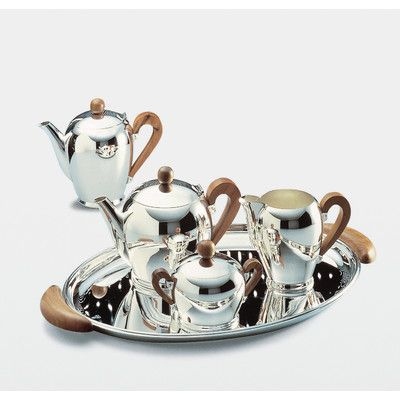 "Alessi Bombe - Carlo Alessi was born in Granerolo (Verbania) in 1916, studied technical design at the OMAR institute in Novara and, at an early age worked in the metal workshop set up by his father, Giovanni, in 1921. From the mid-thirties until the mid-forties, he designed many Alessi works including the ""Ottagonale"", ""Scalini"", ""Cilindrica"" and ""BombΘ'"" series."
