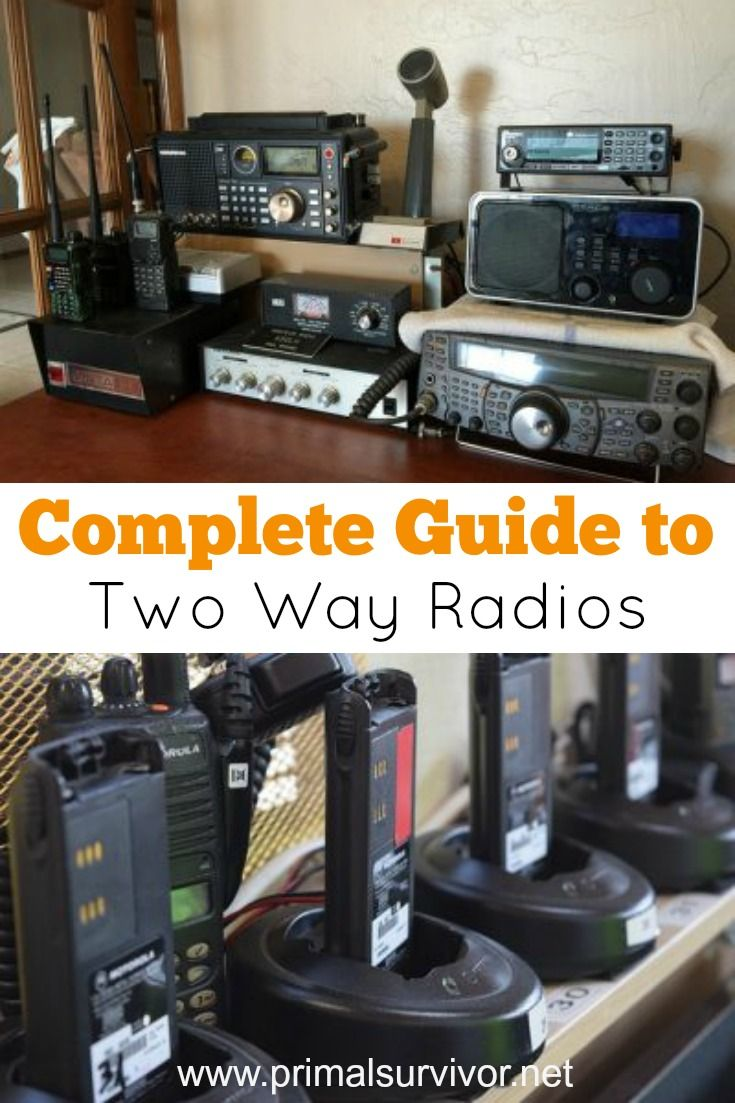 Complete Guide to Two Way Radios: Ham, CB, FRS, GMRS, and MURS. Living in the modern world, we take it for granted how easy it is to get in contact with our family and loved ones. In an emergency situation, communicating won't be as easy as picking up your cell phone. The most reliable emergency communications are 2-way radios because they don't rely on any grid and you can still communicate even when no cell signal is available. There are also other benefits to using 2-way radios, like the…