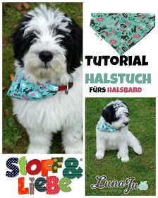 http://stoffundliebe.blogspot.de/2014/10/tutorial-halstuch-fur-tierhalsband.html