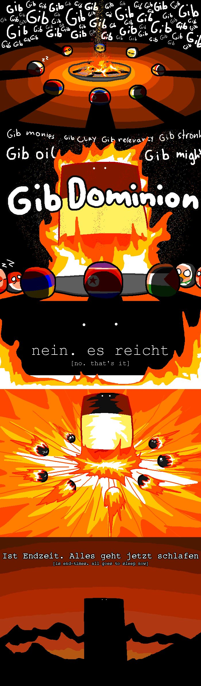 ist Endzeit : is end-time ( Reichtangle ) by Schootingstarr #polandball #countryball