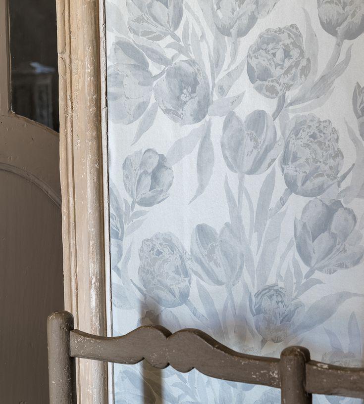 Interior Design Trend, Painterly Florals   Fontainebleau Wallpaper by Designers Guild   Jane Clayton