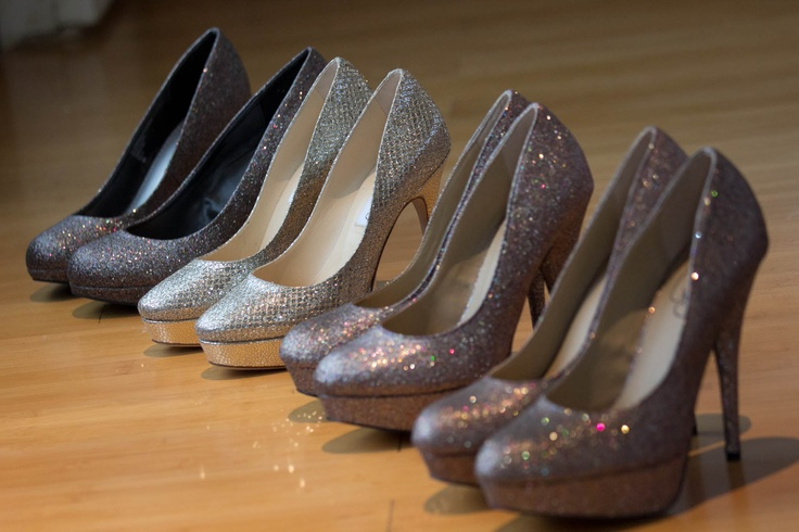 With All Bridesmaids Shoes