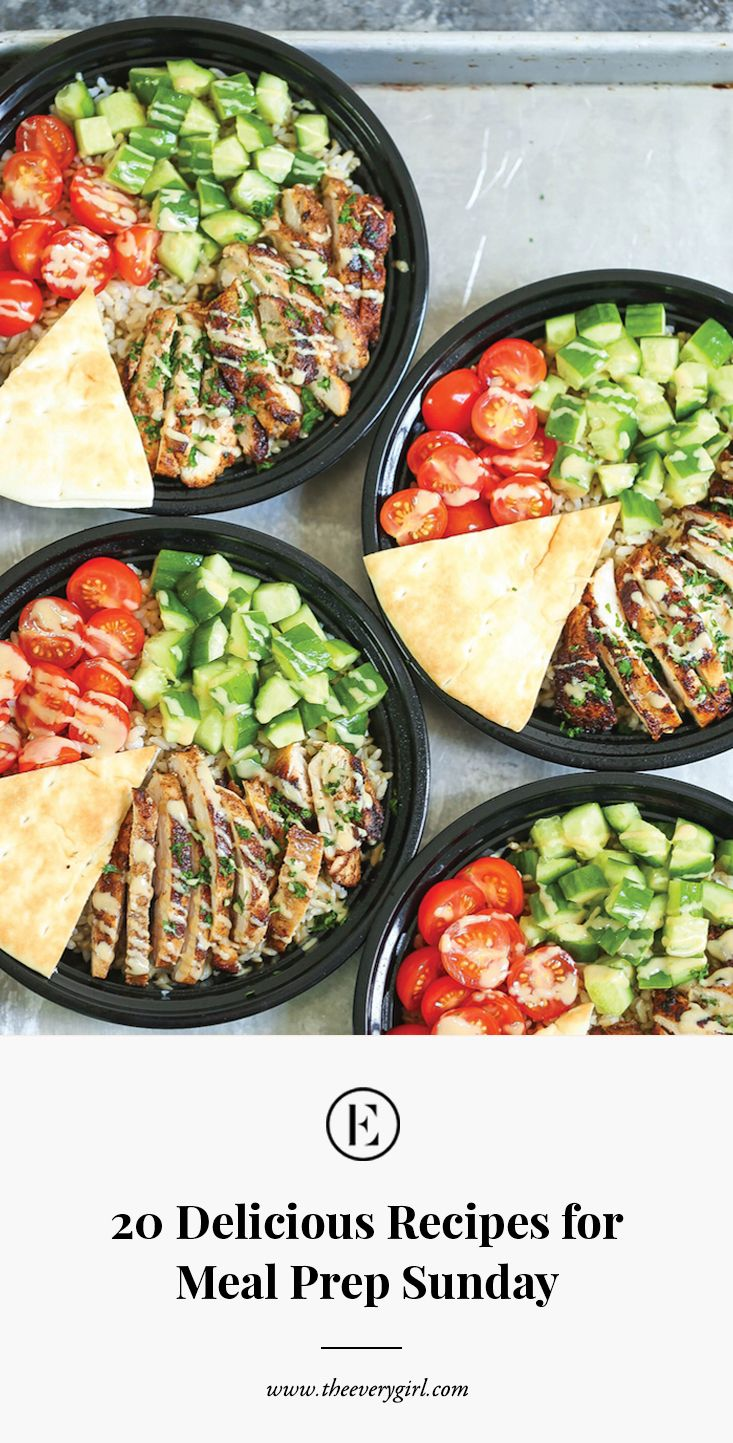 20 Delicious Recipes for Meal Prep Sunday