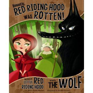 I always find it interesting when an author takes a classic, lovable fairytale character and creates a backstory for them. It allows readers to see the characters in a different light, such as this version of Little Red Riding Hood where she appears to be rotten instead of the sweet, innocent Little Red that is usually known.
