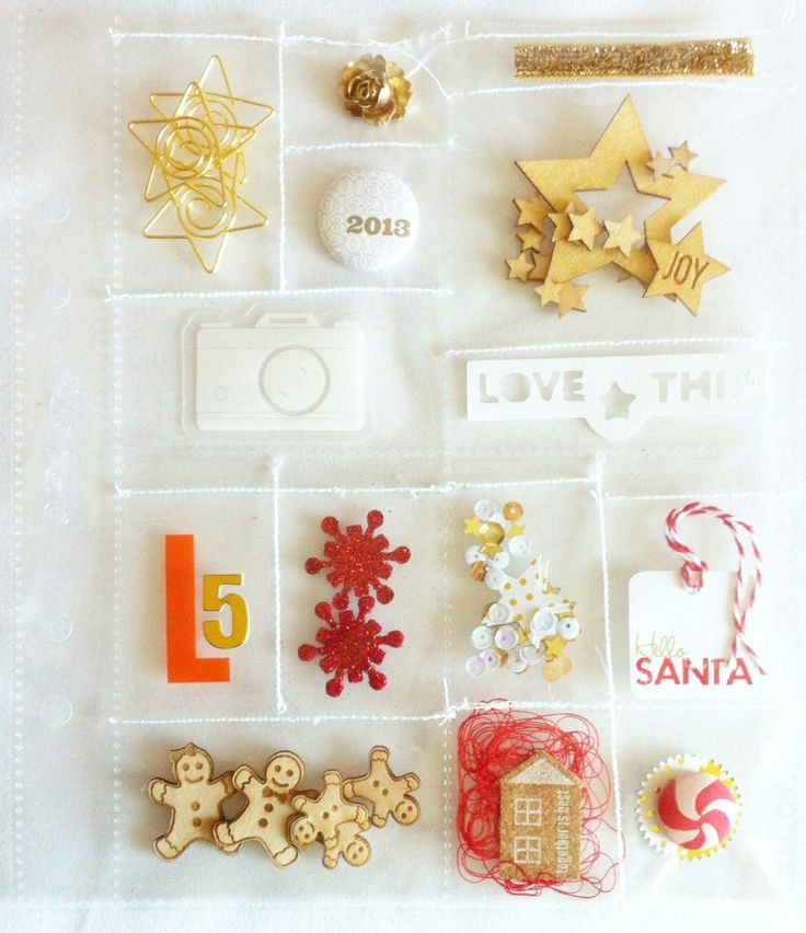 December Traditions- Foundation Pages by Veronica_Milan at @Studio_Calico