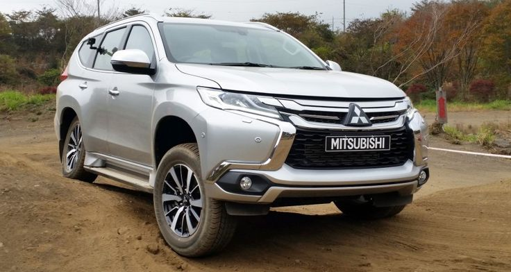 Pajero Sport 2016 (from Japan off road test) How about this look?