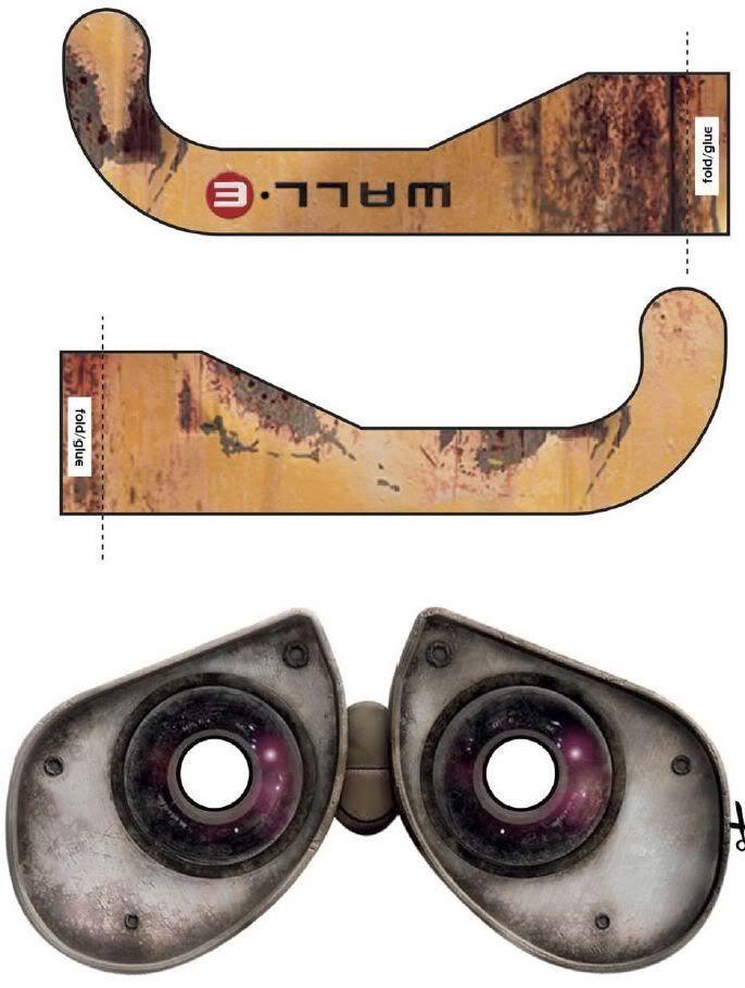 Wall-E Glasses                                                       …                                                                                                                                                                                 Más