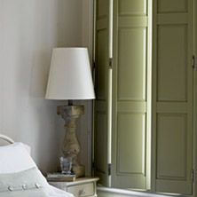 64 best images about shutters on pinterest window the - Unfinished wood shutters interior ...
