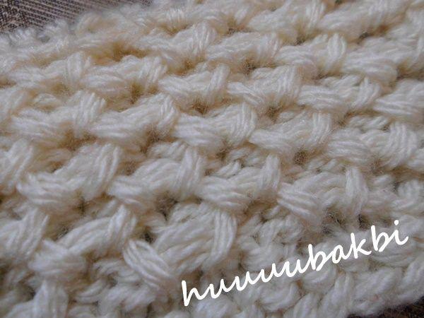 knit honeycomb pattern,haroşalı petek örnek