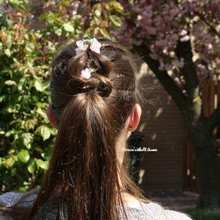 Miriam's Vlecht Lessen (Miriam's braiding instructions): Doorhaalvlecht // Pull through braid