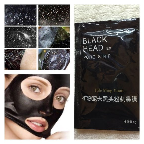 30 pouches of Black Head Removing Mask https://cocos-hop.myshopify.com.                                             ^^^^^^^Free shipping ^^^^^^^                                     BLACK HEAD PORE STRIP    30 pouches    6 grams per pouch     180 grams total   (2 punches to cover entire face )  BEST USED AFTER HOT SHOWER TO OPEN PORES UP!! Makeup