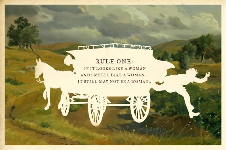 Rule One silhouette art by Wilhelm Staehle, silhouette artist #art #artprint #print