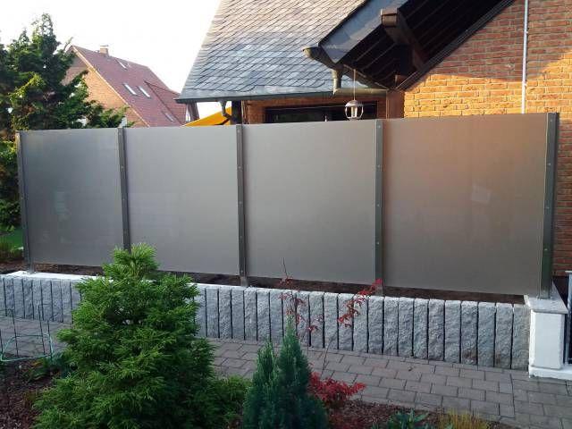 Sichtschutz Densa Als Sichtschutz Auf Mauer Windschutz Terrasse Windschutz Terrasse Zaun