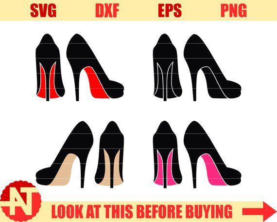 31b1580175269 High heels svg Woman shoes Svg Stiletto heels SVG stiletto svg Svg ...