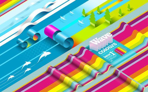 Colorama - Alexandre Efimov (Behance Network) - #3D