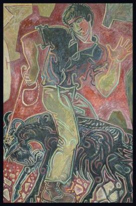 'Voskos I', 1984, by John Craxton