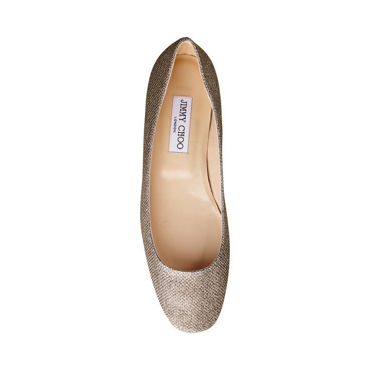 Jimmy Choo Finlay Square Toe Flat Light Bronze - The Finlay flat adds a touch of glamour to every ensemble.